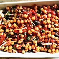 Recept : Cizrna na italský způsob | ReceptyOnLine.cz - kuchařka, recepty a inspirace Clean Eating, Beans, Food And Drink, Health Fitness, Snacks, Chickpeas, Vegetables, Recipes, Bulgur