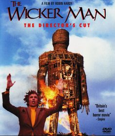 The original WICKER MAN, a sinister and creepy movie well worth tracking down. Britt Ekland, Hammer Horror Films, Creepy Movies, Mystery Film, Audio Latino, Wicker Man, Horror Themes, Foreign Movies, Classic Horror Movies