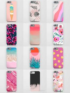 Society6 Pink Phone Cases - Society6 is home to hundreds of thousands of artists from around the globe, uploading and selling their original works as 30+ premium consumer goods from Art Prints to Throw Blankets. They create, we produce and fulfill, and every purchase pays an artist.