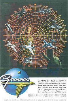 TBT: A Plot of History, Grumman advertisement circa 1955! pic.twitter.com/jxiZNi6Iqs