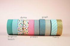 CONIGLIO GIALLO: I ♥ washi tape