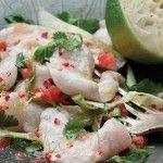 Sea Bass Fillets Ceviche
