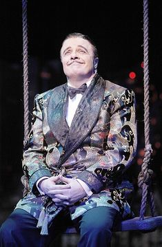 Nathan Lane as Gomez in The Addams Family.