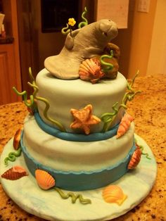 birthday manatee - Google Search