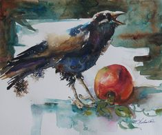 Watercolor painting by Vickie Nelson