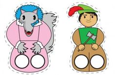 Marionnette | Ressources Pour L'éducation tiroir LA Petite Enfance Traditional Tales, Traditional Stories, Hand Puppets, Finger Puppets, Preschool Learning Activities, Christmas Coloring Pages, Creativity And Innovation, Felt Patterns, Little Red