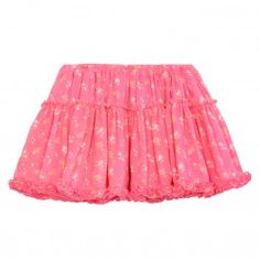 Short and sweet chiffon bird print girls party skirt with gently elasticated waist for ease of fit. Wear with a pretty Lucy Tee for a relaxed party look.