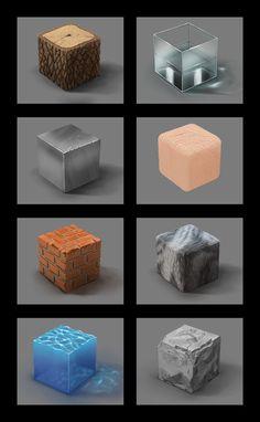 Material study by Tatsuhiro-kun