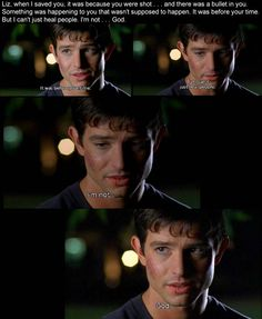 Roswell Season 1 Episode 4: Max Evans says he isnt God.
