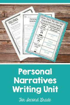 Personal Narrative Writing Lessons for Grade Gr Wtg Workshop Unit Writing Curriculum, Writing Lessons, Teaching Writing, Writing Ideas, Teaching Ideas, Personal Narrative Writing, Personal Narratives, Small Moment Writing, Second Grade Writing