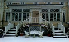 Panoramio - Photos by rai-rai > Ilmajoki Finland, Castle, Villa, Stairs, Architecture, Photos, Home Decor, Historia, Arquitetura