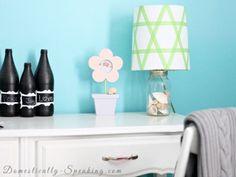 DIY Lamp Shade Makeovers - Home Craft Ideas - Good Housekeeping