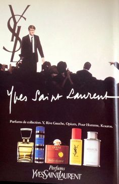 The YSL line of fragrances.