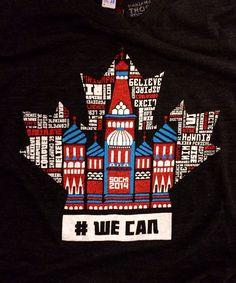 Sochi 2014 t-shirt in support of Canadian Olympic athletes! Summer Games, Winter Games, Usa Olympics, Winter Olympics, Meanwhile In Canada, Health And Fitness Magazine, Canada 150, Going For Gold, Olympic Athletes