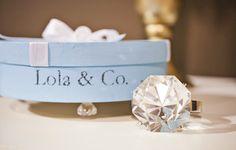 Lola & Co Tiffany Themed Party - Bella Paris Designs