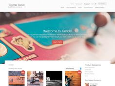 Tienda Basic is an online storefront theme built specifically for WooCommerce. Set up a modern and beautifully designed eCommerce shop that works perfectly on handheld devices and desktops alike. With...