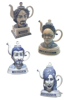 Drink in Evil with 'Pitchfork Pals' Over a Cup of Tea #kitchen trendhunter.com