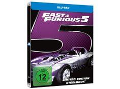 Fast & Furious 5 - MM/Saturn exklusiv (Steelbook)