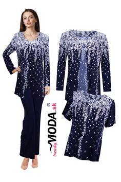 Elegantný úpletový dámsky nohavicový komplet Hiit, Jar, Dresses With Sleeves, Workout, Long Sleeve, Fashion, Moda, Sleeve Dresses, Long Dress Patterns