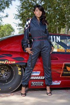 nicole lyon professional auto drag racer-she is one of my idols!