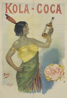Kola-Coca - années 1900 - illustration de Pal (Jean de Paleologue) -