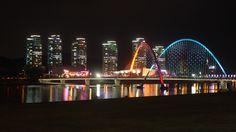 korea, scenery, beautiful building ...