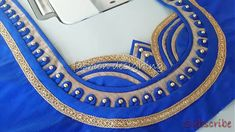stitching of a beautiful back neck design of a blouse at home easy Blouse Back Neck Designs, Brocade Blouse Designs, Chudidhar Neck Designs, Patch Work Blouse Designs, Neck Designs For Suits, Stylish Blouse Design, Designer Blouse Patterns, Fancy Blouse Designs, Hand Designs