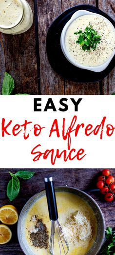 You are going to want to put this Keto Alfredo Sauce in your weekly rotation for meal prep. Perfect over zucchini noodles, chicken, and even eggs. Lunch Recipes, Low Carb Recipes, Dinner Recipes, Free Recipes, Kids Meals, Easy Meals, Keto Alfredo Sauce, Gluten Free Meal Plan, Keto Friendly Desserts