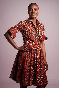 Openya-Fidele ~African fashion, Ankara, kitenge, African women dresses, African prints, African men's fashion, Nigerian style, Ghanaian fashion ~DKK
