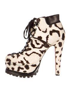 Ala�a Ponyhair Hiking Boots