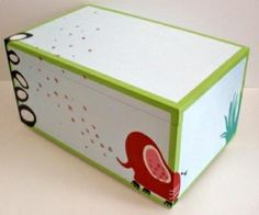 Wooden baptism/ toy box themed Jungle  at www.happyrooms.gr