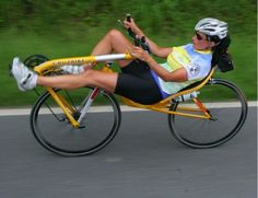 Very interest  front wheel drive recumbents