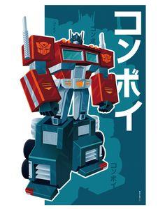 optimus prime poster by strongstuff on DeviantArt
