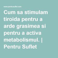 Metabolism, Good To Know, Medicine, Diet