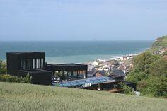 Les gîtes Lodges de la Villa Quartz, 5 appartements meublés en location touristique avec vue grandiose sur mer, pourville-sur-mer, dieppe, haute-normandie, seine-maritime, cote d'albatre, etretat