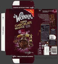 Australia-New Zealand - Nestle - Wonka Triple Chocolate Whipple - chocolate bar wrapper box - August 2013 | Flickr - Photo Sharing!