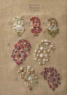 Perle broderie Stitch échantillonneurs par JapanLovelyCrafts