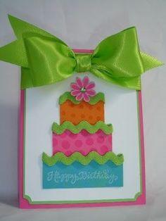 cricut+birthday+cards+for+kids | Cricut+Cards+Ideas | Birthday Card | Cricut Craft Ideas