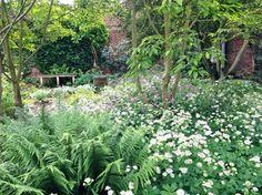 The Delos garden at Sissinghurst