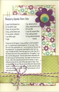 Paper Cottage: Recipe Kit of the Week - 09/05/2011