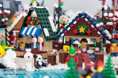 Flickriver: Most interesting photos from LEGO Winter Village pool Lego Winter Village, Cool Photos, Interesting Photos, Space Photos, Legos, Gingerbread, Miniatures, Bricks, Awesome