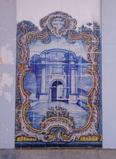 Painel de Azulejos: Porta da Vila, Campo Maior - Elvas | Flickr – Compartilhamento de fotos!