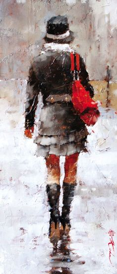 Vintage Chanel II by Andre Kohn is one of the pieces in the Small Works Fine Art Auction presented by Morris and Whiteside Galleries and The Sylvan Gallery - July 19th 1 pm