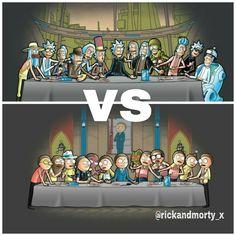 Rick vs Morty