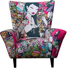 The ClickfortArt Limited Edition Chairs are Artistically Hipster