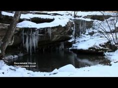Burden Falls - Shawnee National Forest - Winter