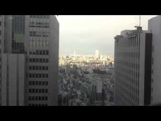 Skyscrapers in Tokyo swaying in Earthquake - Scary - YouTube