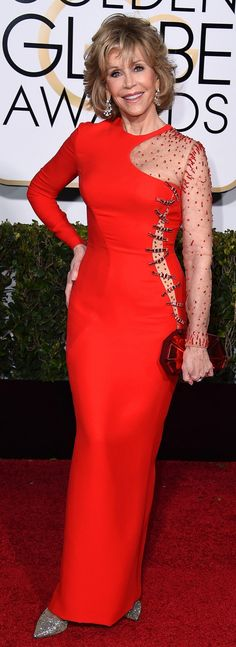 Red Dresses at the Golden Globes 2015 | POPSUGAR Fashion