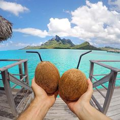 Does your dream honeymoon look something like this????😍 Photo by @aleporte in Bora Bora