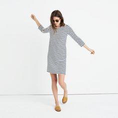 Striped Knit Dress : casual dresses | Madewell
